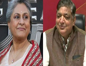 Naresh Agrawal attacks 'film wali' Jaya Bachchan after joining BJP.
