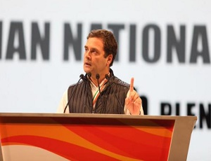 Rahul Gandhi's speech at Congress Plenary rhetoric of a loser: BJP