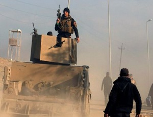 Mosul battle: Troops retake main government office