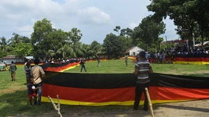 World Cup 2018: Farmer sews \'longest\' German flag