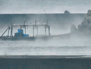 Eight \'North Korean fishermen\' wash ashore in Japan.