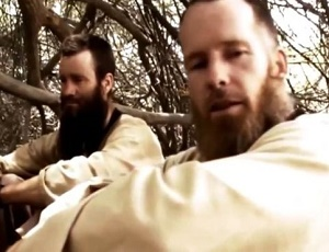 Al-Qaeda hostages McGown and Gustafsson talk of time in Sahara.