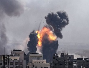 Hostilities flare up as rockets hit Israel from Gaza