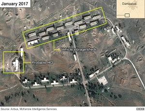 Iran building permanent military base in Syria - claim