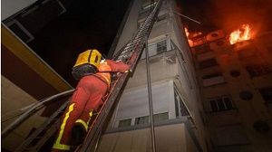 Paris fire: Eight dead and many injured at apartment block