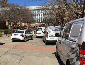 Four hurt in baseball bat attack at Australian university.