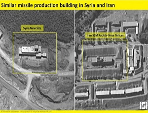 Iran building missile factories in Syria and Lebanon - Netanyahu.