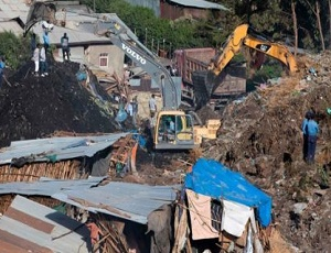 Ethiopia rubbish landslide kills 48 in Addis Ababa