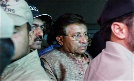 Pervez Musharraf banned from contesting polls for life