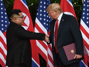 The handshake, denuclearization and another summit: Six things to know from the Trump-Kim summit