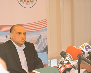 Media Briefing by Ambassador Aizaz Chaudhry on the latest situation in Palestine, held at the Embassy of Pakistan, Washington DC