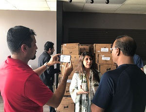 Consulate's Outreach to the Pakistani Community after Harvey.