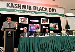 Kashmir Black Day Event held at the Embassy of Pakistan