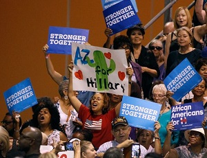 Clinton goes after Arizona and a mandate: Laurie Roberts