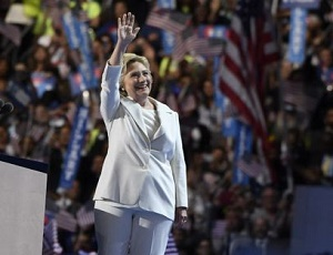 Hillary Clinton stands up to 'moment of reckoning'