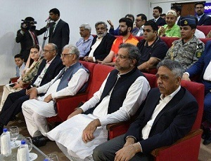 PM Abbasi, Bilawal among notables witness PSL final at National Stadium