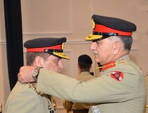 Military awards conferred to army personnel for acts of gallantry