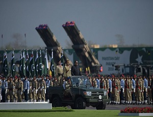 Nation marks Pakistan Day with military parade, gun salute
