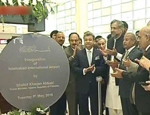 New Islamabad airport inaugurated after years of delay