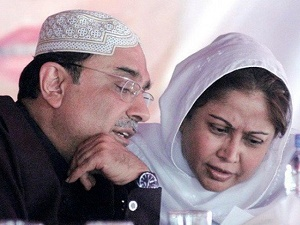 Interior ministry denies placing Zardari, Faryal on no-fly list