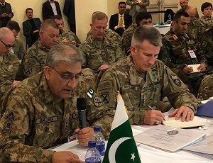 Path to regional peace passes through Afghanistan, says Gen Qamar.