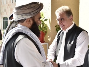 US envoy meets Taliban as Pakistan pushes for Afghan peace deal