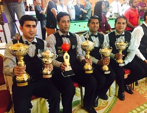 World 6-Red Team Championship: All-Pakistan final won by Asif, Babar.
