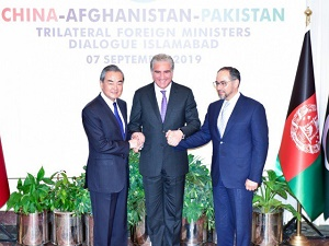 Pakistan, China back inclusive Afghan peace deal