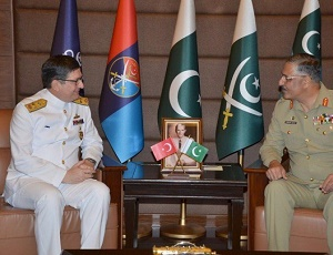 Turkish naval chief, JCSC chief discuss maritime security