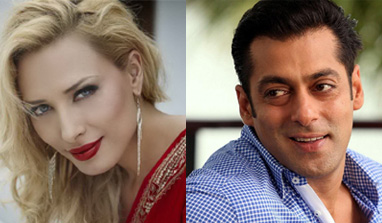 Salman Khan bonds with Romanian beauty?