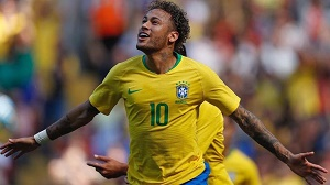 Neymar shines on Brazil return, Spain draw after David De Gea blunder
