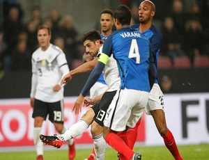 Football Friendlies: Germany\'s Stindl denies France a win, England hold Brazil