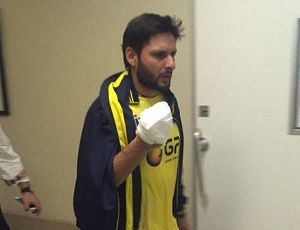 Afridi out of PSL final