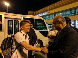 World XI squad arrives in Lahore amid tight security
