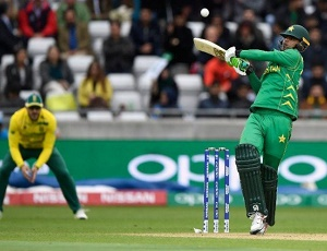 Pakistan win by 19 runs (DLS method) against South Africa