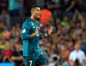 Ronaldo banned for five matches for pushing referee.
