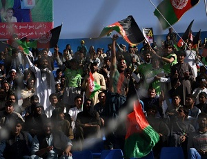 Cricket-mad Afghan fans flock to T20 despite violence.