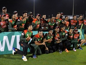 Bangladesh seal T20I series with 19-run victory over Windies