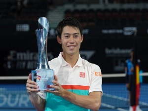 Nishikori claims first title since 2016 with Brisbane win
