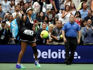 Osaka beaten but wiser after US Open exit