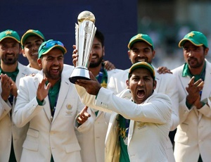 Pakistan make history by claiming their first Champions Trophy