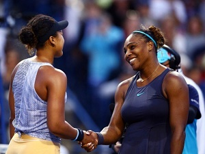 Serena powers past number one-bound Osaka