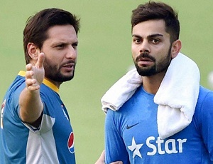 Afridi thanks Kohli and co for 'wonderful' gift