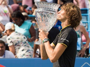Zverev wins second consecutive Washington Open