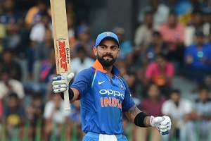 Kohli stars as India beat Australia by six wickets in second ODI