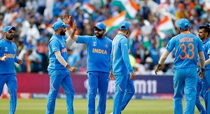 India knocks out Bangladesh to clinch semi-final spot