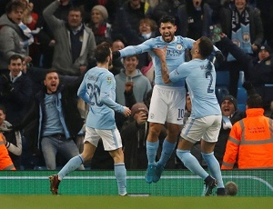 Aguero strike breaks Bristol City's hearts.