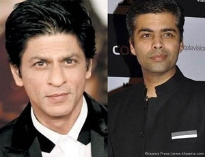 Shah Rukh finally reacts to Karan Johar's twins