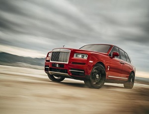 Rolls-Royce reveals Cullinan SUV at a price of $325,000