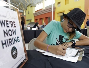 Economy added booming 313K jobs in Feb.